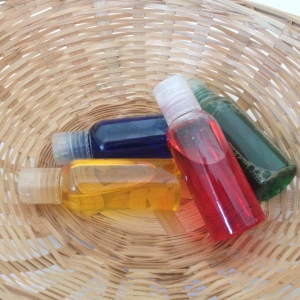 colour bottles