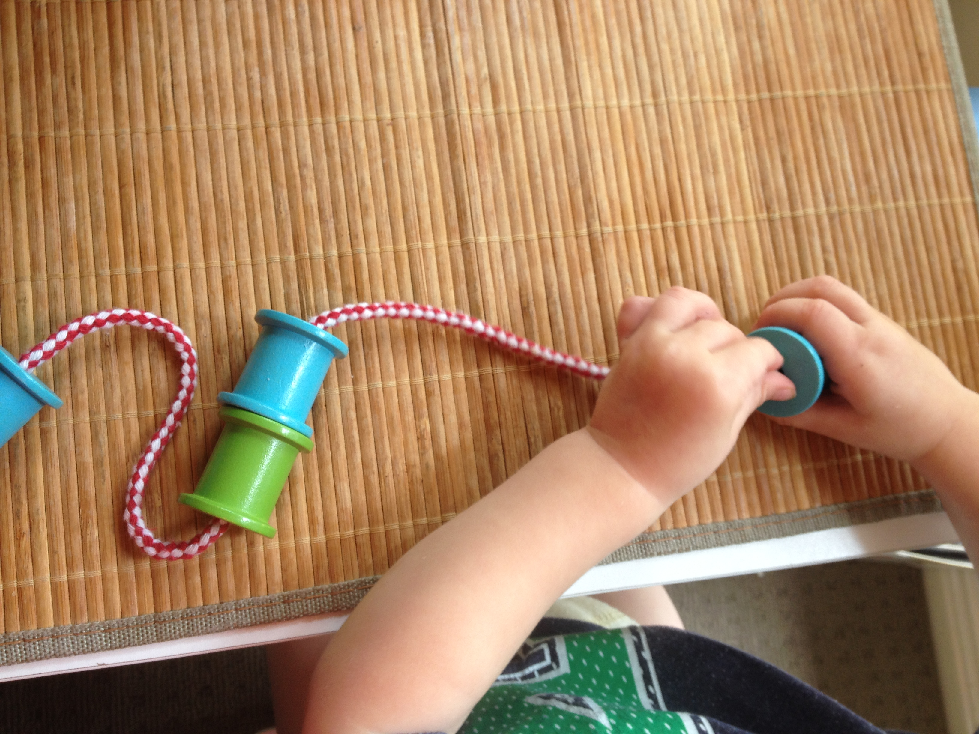 Sewing Lacing And Weaving Ideas With A Toddler Every Day Begins New