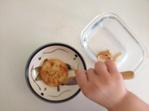 Spread on cracker