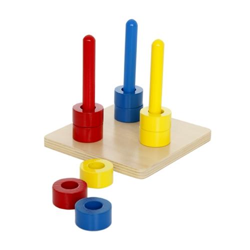 wooden stacker