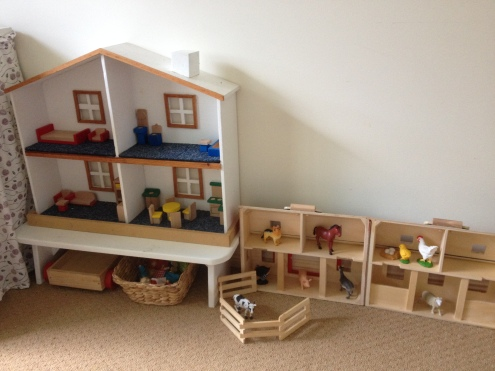 Doll House and Barn