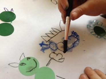 watercolour crayons 1