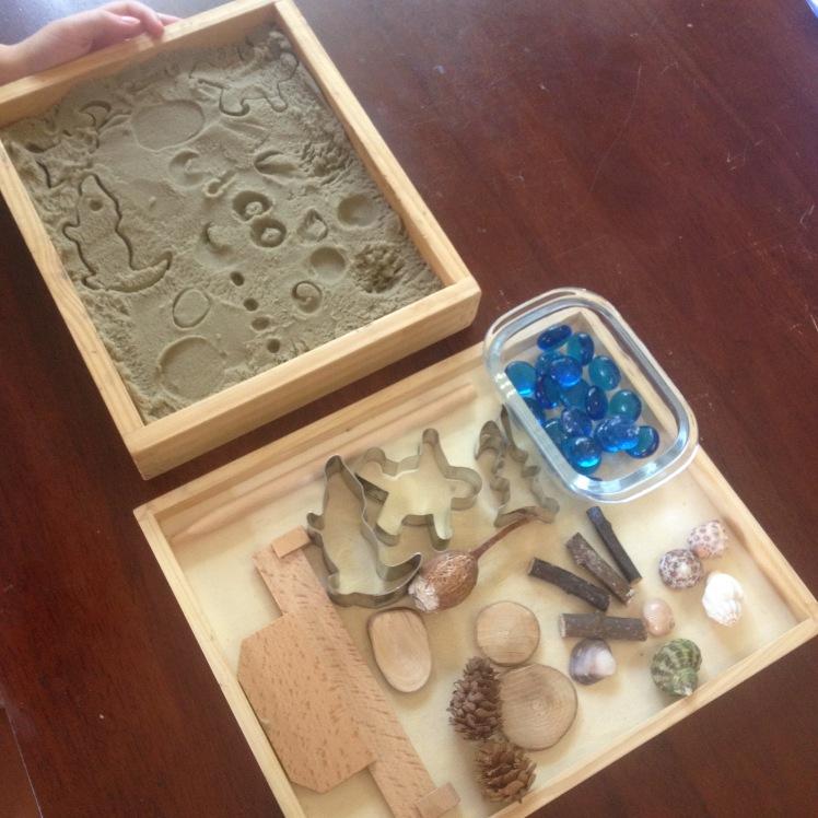 Kinetic Sand Prints
