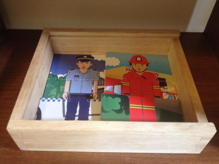 Occupation puzzle