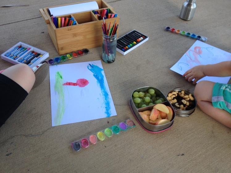 Art at the park
