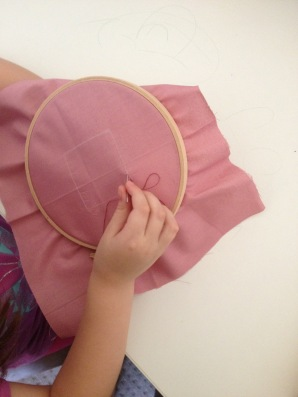initial sewing shapes