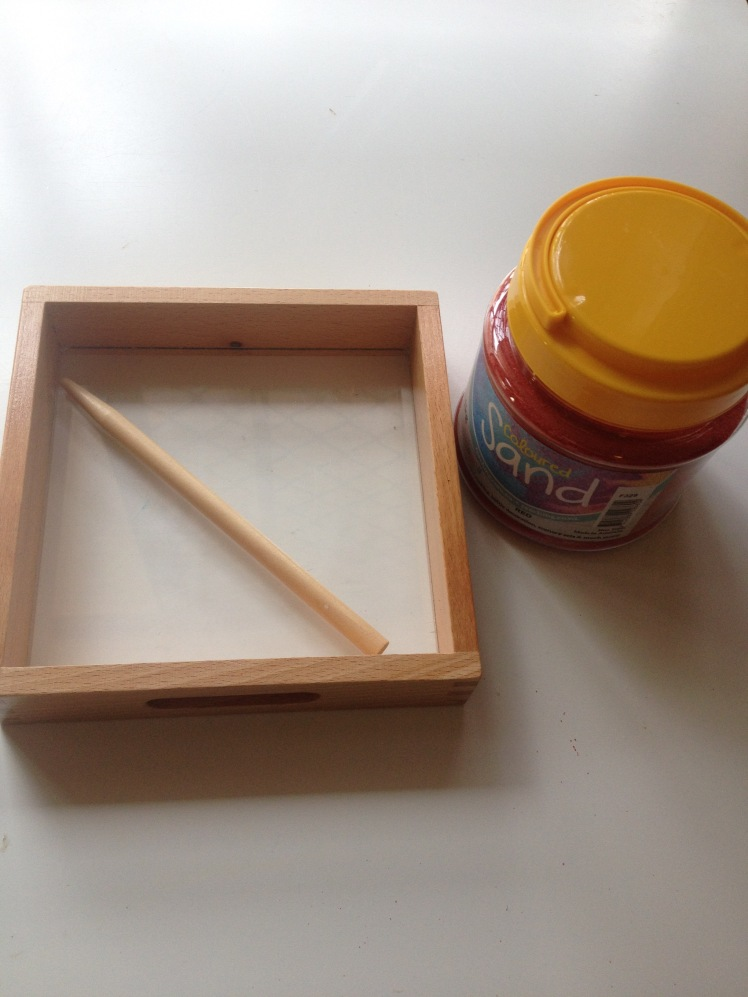 sand tray clear base