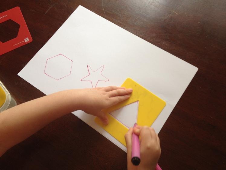 Stencil Triangle