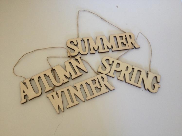 Season signs