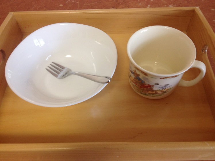 ceramic bowl and mug toddler