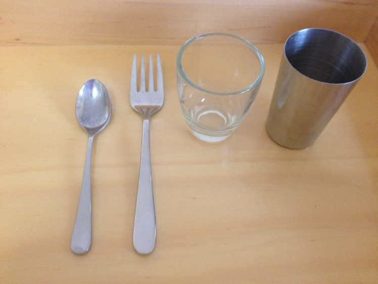 infant utensils and first cup