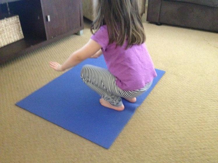 yoga pose 2