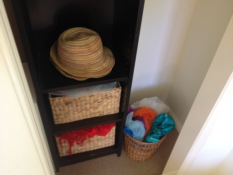 dress up shelf