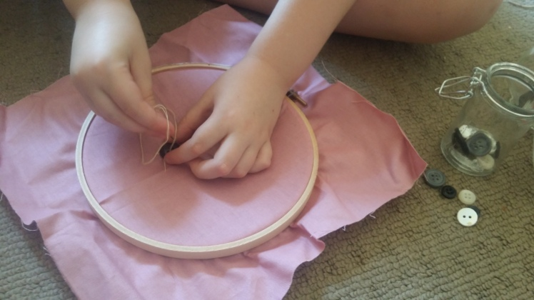 button-sewing-practice