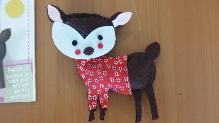 sweet sewn deer