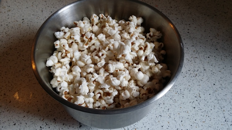 home made movie popcorn