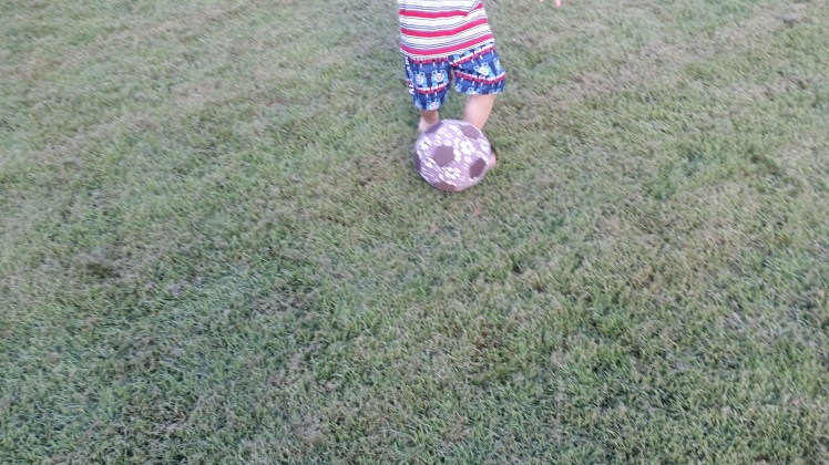 soccer outside