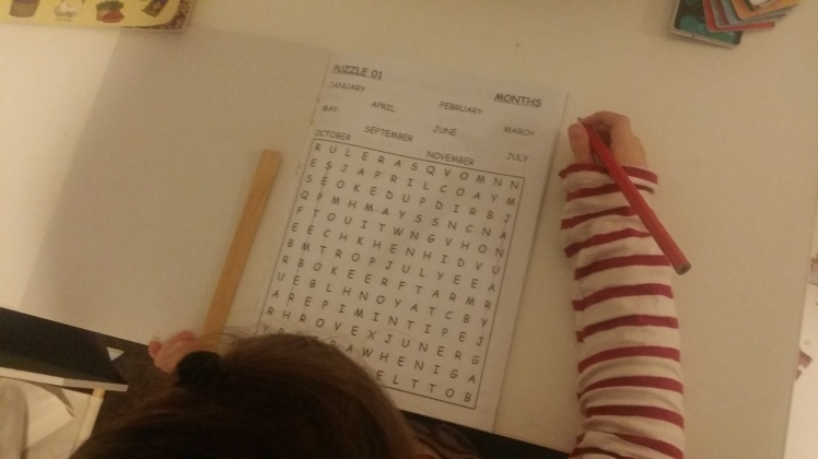 crossword puzzles at 5 years