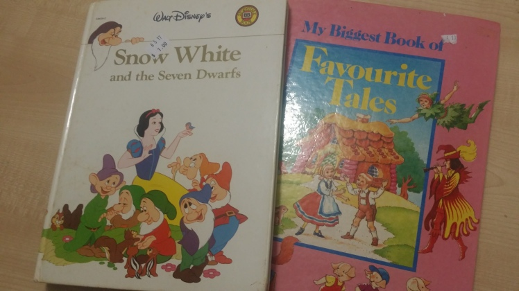 second hand story books