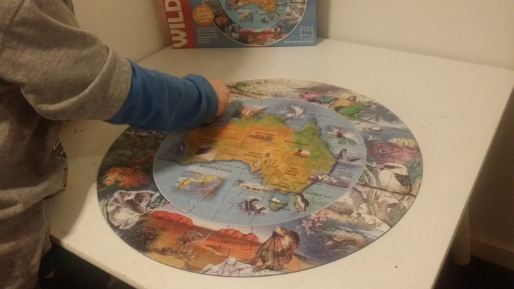 world map puzzle