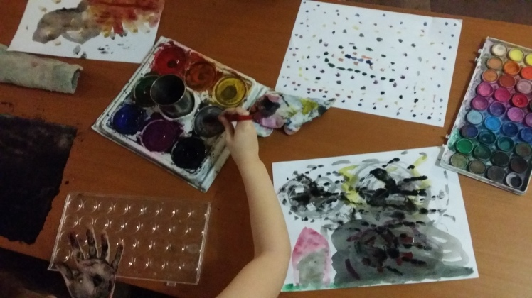 creativity with paint