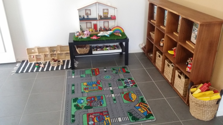 downstairs play space