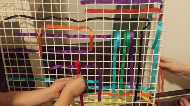 ribbon weaving