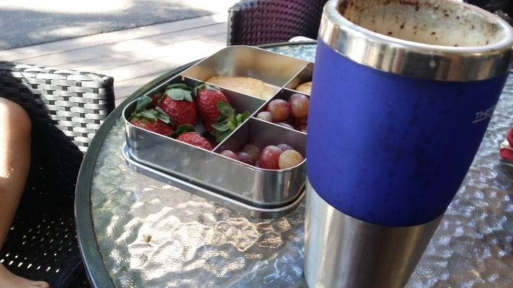 Plastic Free July - take your own food and re-usable coffee cup.jpg