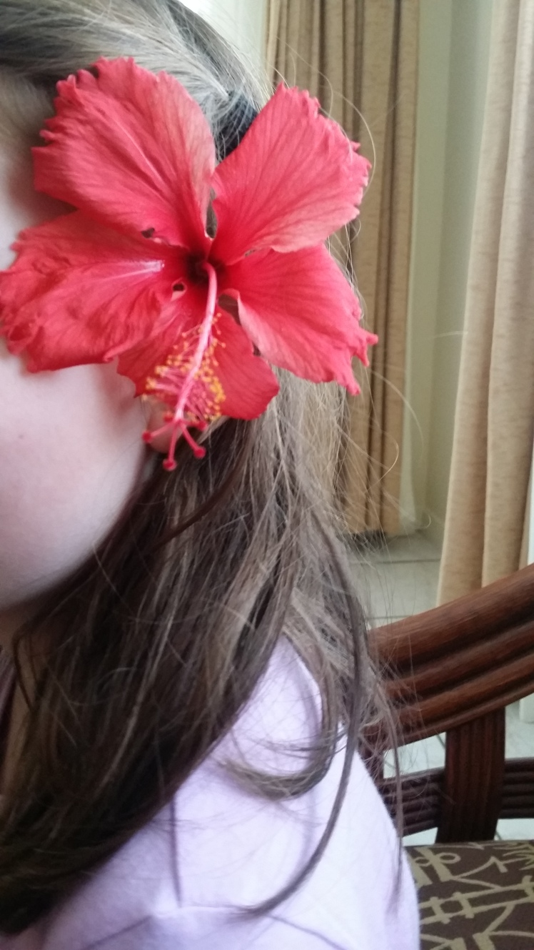 A flower gift for my daughter in Fiji