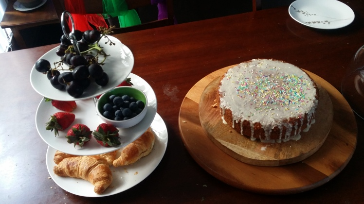 Birthday Breakfast- minimim waste