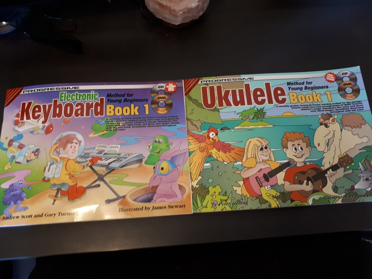 Keyboard and Ukulele Beginners Lesson book.jpg