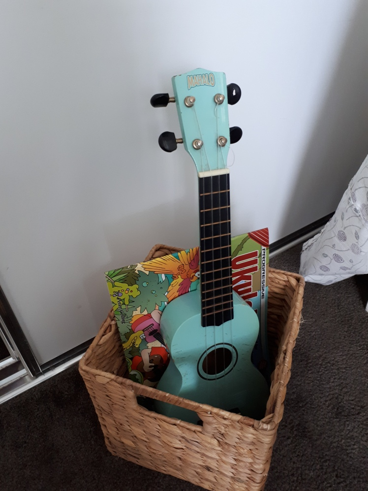 Learning to play the Ukulele at 5.5 years