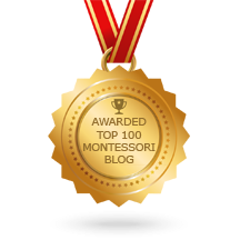 Montessori Blog top 100 badge