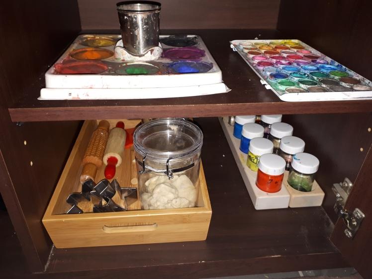 Every Day Begins New- Art shelf rotation