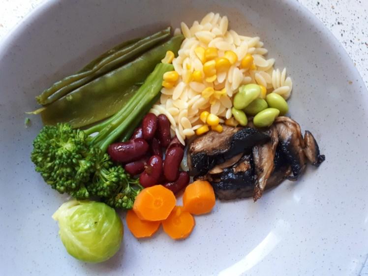 plant-based dinner 2