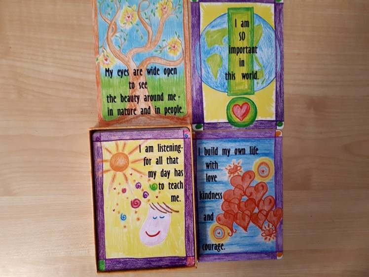 childrens affirmation cards
