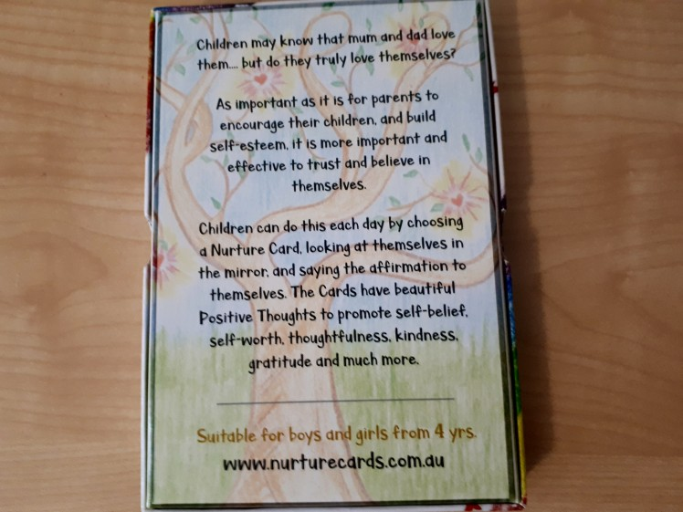 mindfulness- childrens affirmation cards