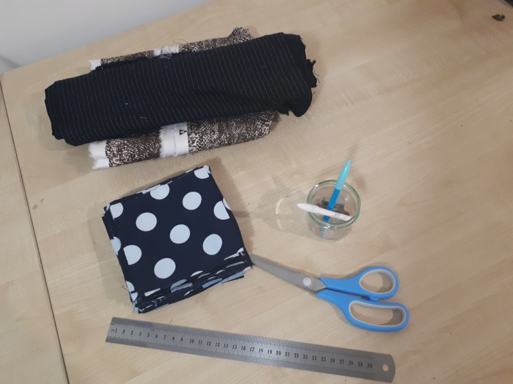 DIY Montessori sewing work