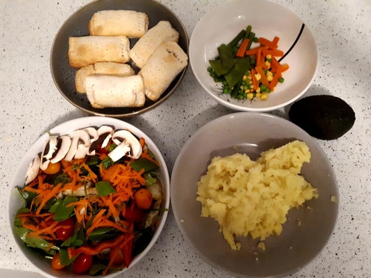 Plant based dinner