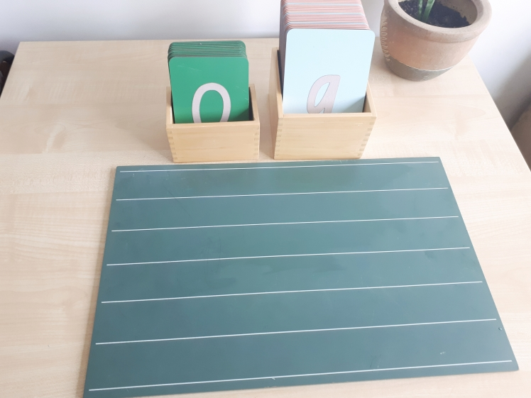montessori writing materials
