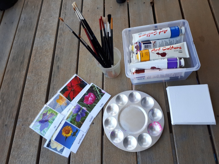 children's canvas art supplies