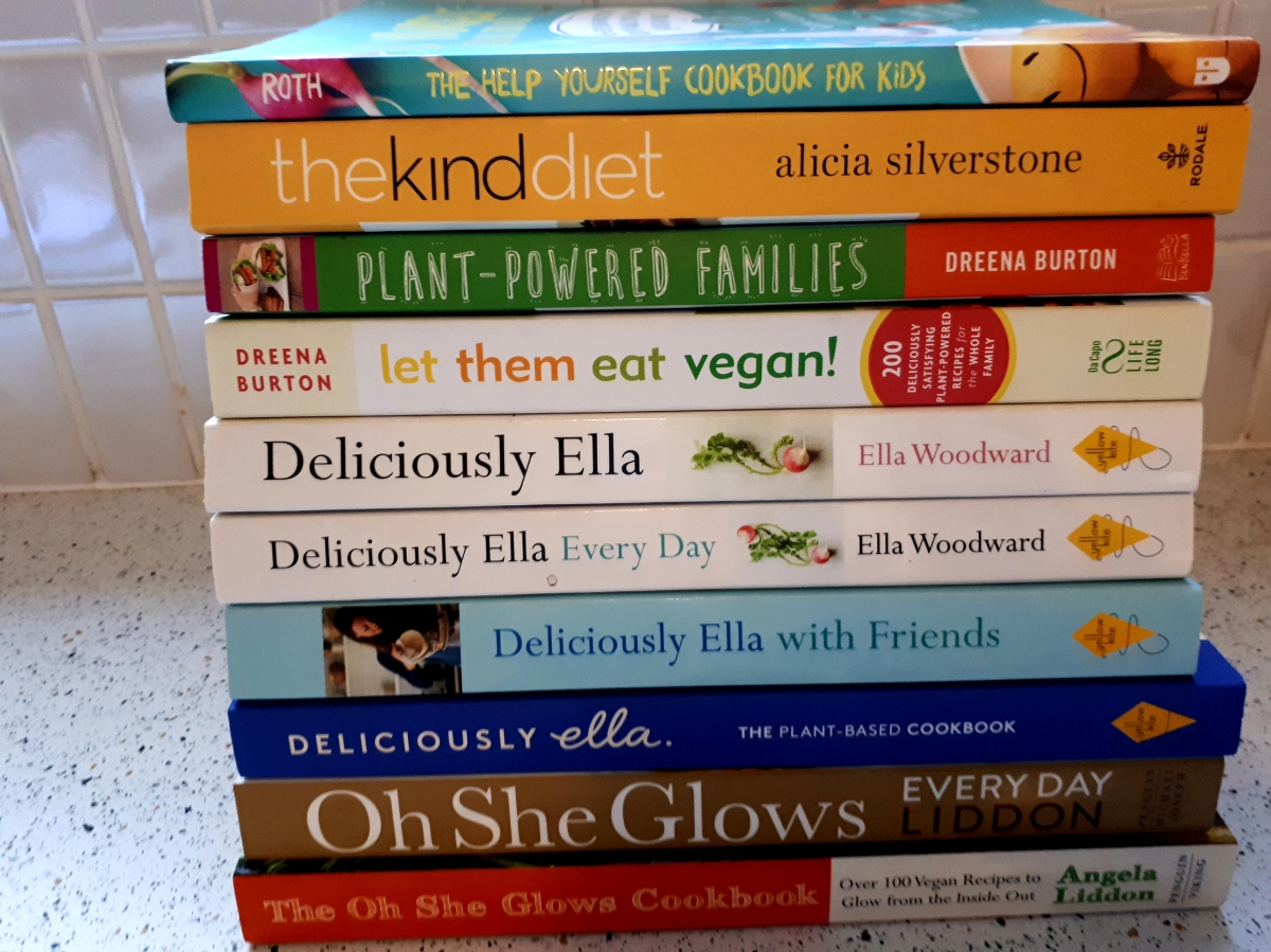 810e1e575d4af My Plant-based cookbook collection – Every Day Begins New