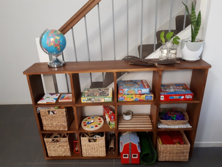 Childrens work and play shelves for a 4 and 6 year old.jpg