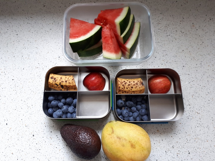 Plant based childrens snack box