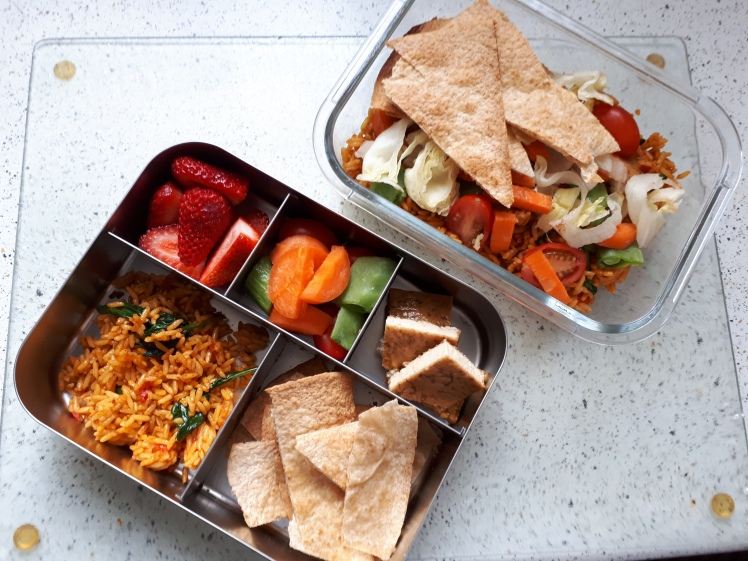Plant Based lunch box for on the go