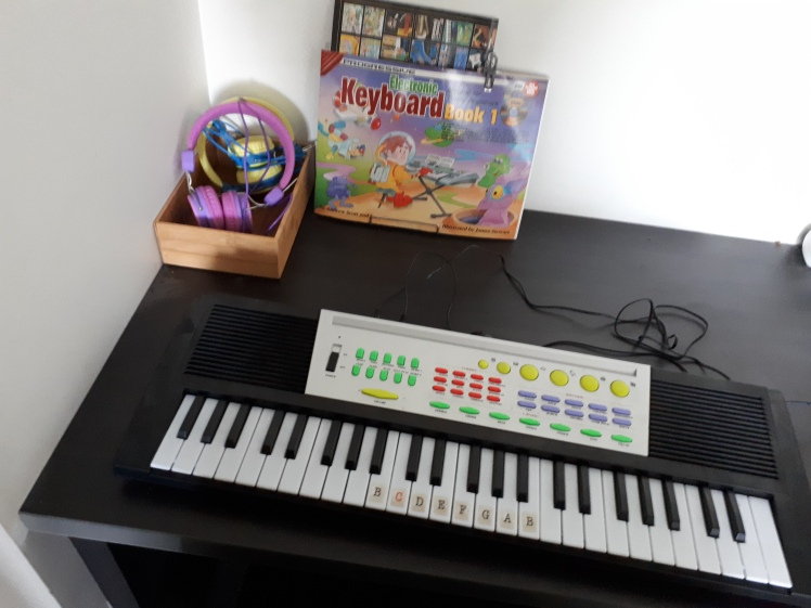 Montessori at home spaces- music corner