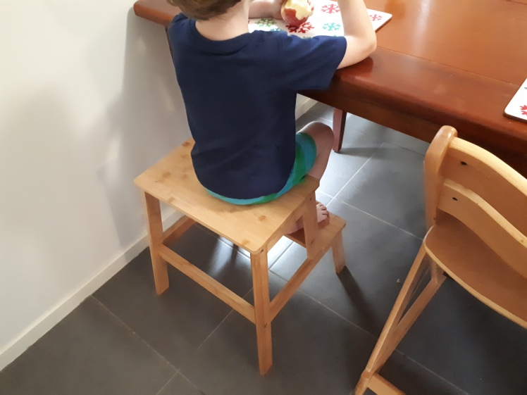 Montessori- supporting independence at the dining table