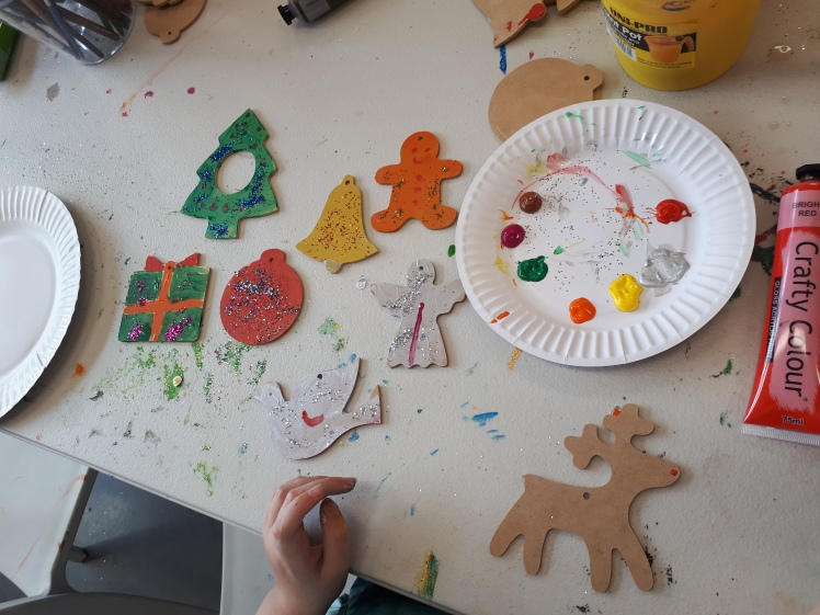 Christmas- kids art workshop