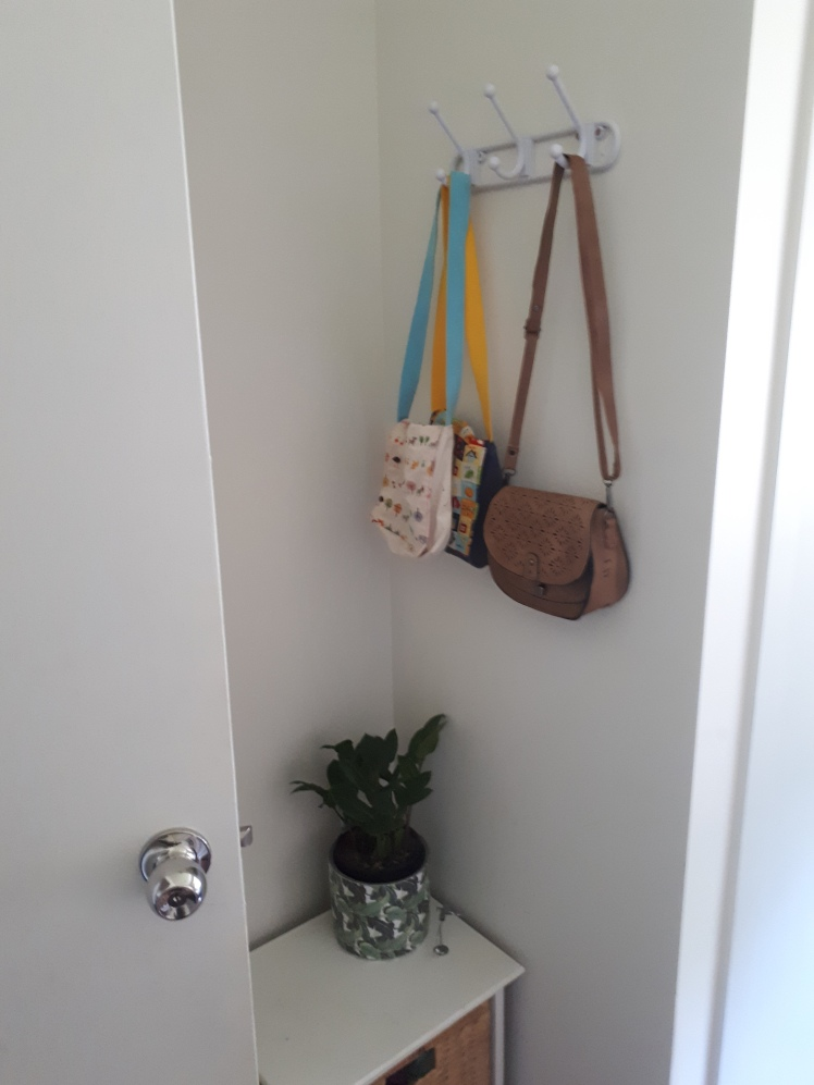 childrens bedroom hanging bag rack