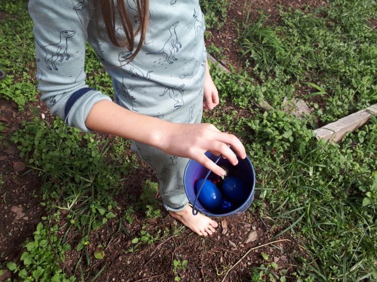 2019 Easter egg hunt- every day begins new blog